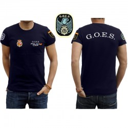 Camiseta cuerpo de policía GOES