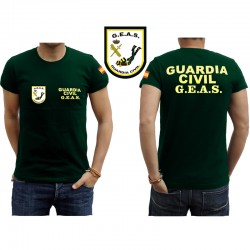 Camisetas Guardia Civil GEAS