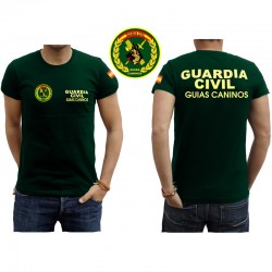 Camisetas Guardia Civil Guias Caninos