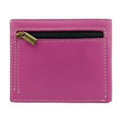 billetero con insignia de Seguridad Privada placa dorada
