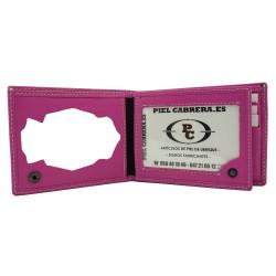Cartera portaplaca monedero interior Policía Nacional (Placa Incluida)