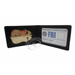 FBI Wallet + FBI Badge