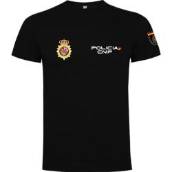 Porte insigne cuir Officier de Police Judicaire
