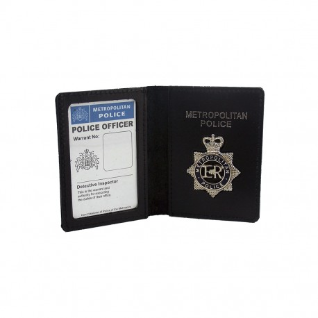 Metropolitan Police Wallet + Badge