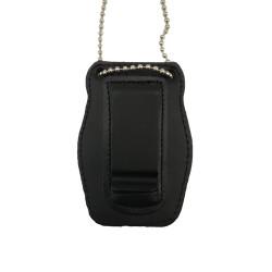 Cartera Porta placa identificativa para agente judicial,