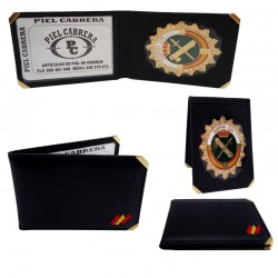 Cartera para insignia y tip Guardia civil
